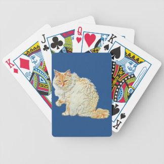 Baralhos Para Poker Gato siamese 2 do ponto da chama