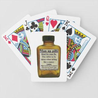 Baralhos Para Poker Homem acima dos comprimidos