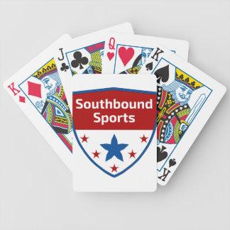 Baralhos Para Poker Logotipo Southbound da crista dos esportes