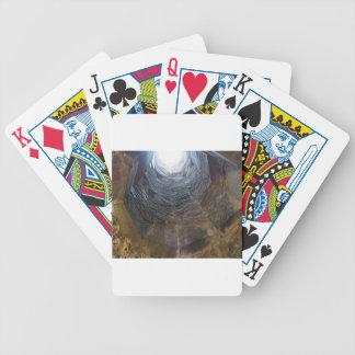 Baralhos Para Poker Luz na extremidade do túnel. Conceito da esperança