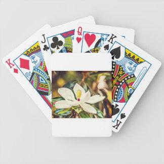 Baralhos Para Poker Magnólia na flor