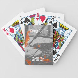 Baralhos Para Poker Mantenha a grade calma sobre