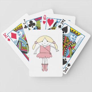 Baralhos Para Poker Menina da bailarina
