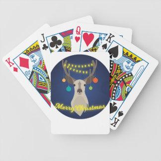Baralhos Para Poker Natal da rena