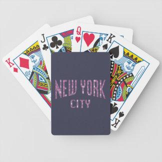 Baralhos Para Poker Nova Iorque no rosa do rosa do primavera