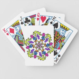 Baralhos Para Poker O jacaré obtem o design do cupcake