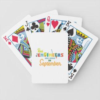Baralhos Para Poker Os engenheiros são em setembro Zt500 nascidos