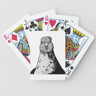 Baralhos Para Poker Pássaros mudos