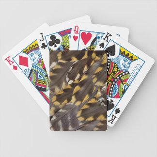 Baralhos Para Poker Penas da tarambola dourada