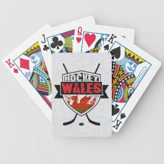 Baralhos Para Poker Plataforma de cartão do hóquei em gelo de Galês,