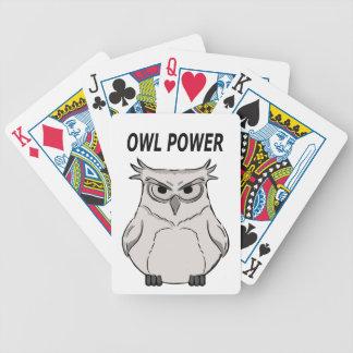 Baralhos Para Poker poder da coruja