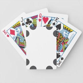 Baralhos Para Poker Pontos DarkGrey Checkered