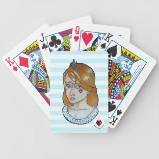 Baralhos Para Poker Princesa dos áss - cartões de jogo da bicicleta