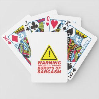 Baralhos Para Poker Sarcasmo