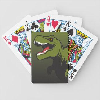 Baralhos Para Poker T-Rex personalizou artigos