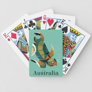 Baralhos Para Poker Tartaruga de mar australiana animador