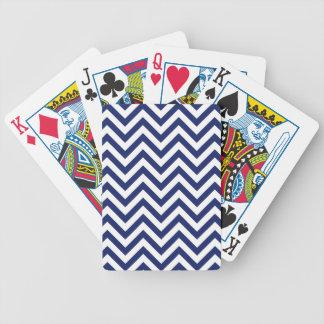 Baralhos Para Poker Teste padrão de Chevron das listras do ziguezague