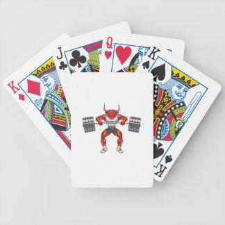 Baralhos Para Poker touro 2 do levantamento de peso