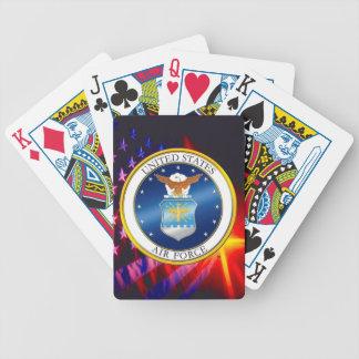Baralhos Para Poker U.S. Cartões de jogo da bicicleta da força aérea