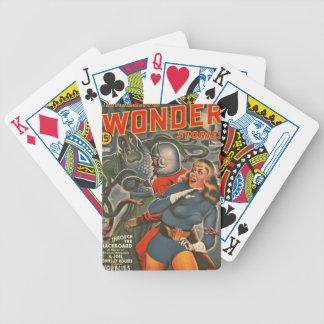 Baralhos Para Poker Viajantes do espaço atacados pelo monstro do