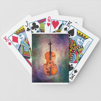 Baralhos Para Poker Violoncelo mágico com borboletas