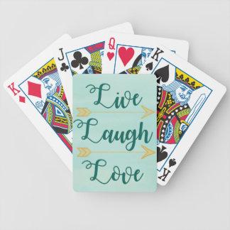 Baralhos Para Poker Vive a aguarela do amor do riso
