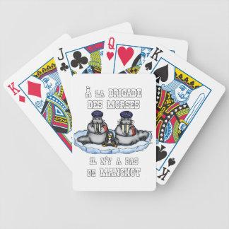 Baralhos Para Pôquer À BRIGADA dos MORSE não há MANETA