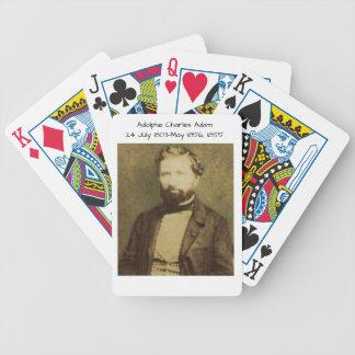 Baralhos Para Pôquer Adolfo Charles Adam, 1855