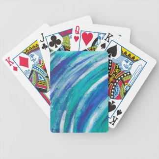 Baralhos Para Pôquer arco-íris azul