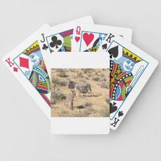 Baralhos Para Pôquer Asno vermelho do nanovolt do parque estadual da