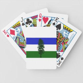 Baralhos Para Pôquer Bandeira de Cascadia