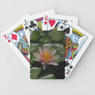 Baralhos Para Pôquer Cartão de jogo cor-de-rosa de Waterlily Lotus