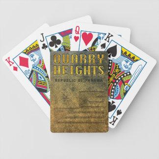 Baralhos Para Pôquer Cartões de jogo: Alturas da pedreira