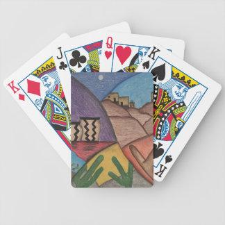 Baralhos Para Pôquer Cartões de jogo coloridos do deserto do sudoeste
