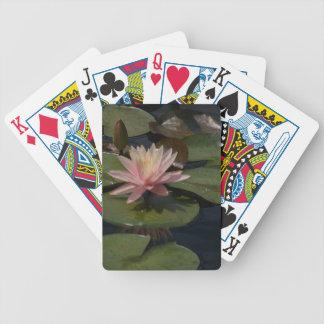 Baralhos Para Pôquer Cartões de jogo cor-de-rosa de Waterlilies Lotus