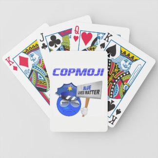 Baralhos Para Pôquer Cartões de jogo de CopMoji
