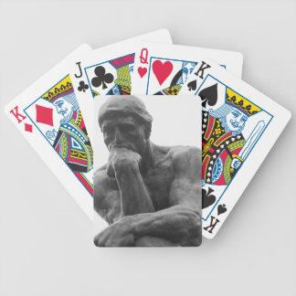 Baralhos Para Pôquer Cartões do pensador