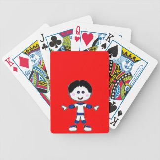 Baralhos Para Pôquer Coleção da família da vara de Little Boy