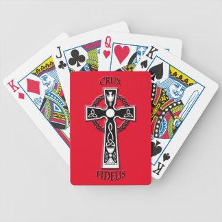 Baralhos Para Pôquer Cruz celta