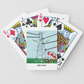 Baralhos Para Pôquer Desenhos animados 9191 do coelho