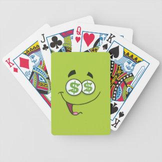 Baralhos Para Pôquer Dinheiro feliz Emoji