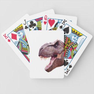 Baralhos Para Pôquer Dinossauros T-Rex