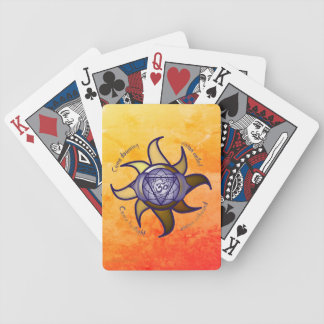 """Baralhos Para Pôquer Do """"cartões de jogo do póquer da ioga terceiro"""