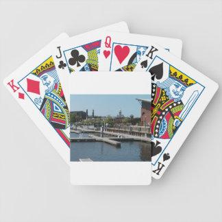 Baralhos Para Pôquer Dubuque, porto do gelo de Iowa, rio Mississípi