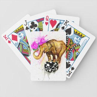 Baralhos Para Pôquer Elefante dos desenhos animados