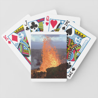 Baralhos Para Pôquer explosão do vulcão da lava