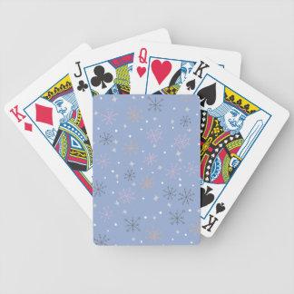 Baralhos Para Pôquer Flocos de neve dos doces