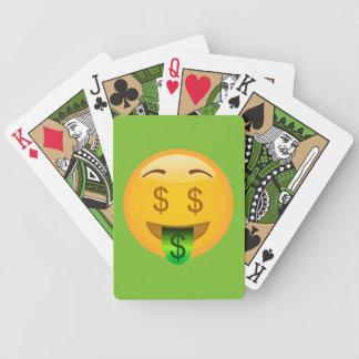 Baralhos Para Pôquer Homem Emoji do dinheiro