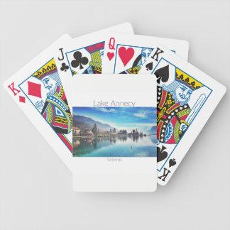 Baralhos Para Pôquer Lago Annecy - cartões de jogo de Talloires