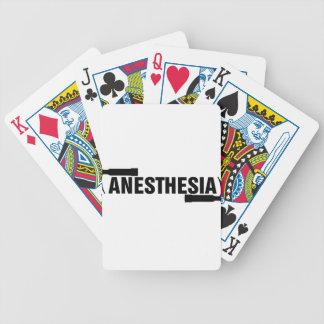 Baralhos Para Pôquer Lâmina do Mac da anestesia